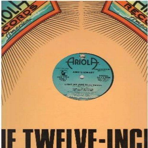 Stewart, Amii - Light My Fire/137 Disco Heaven (8:26 minutes)/Light My Fire/137 Disco Heaven (3:55 minutes)/Light My Fire/137 Disco Heaven (7:50 minutes) (12 inch 33rpm vinyl Maxi Single) - M10/ - LP Records