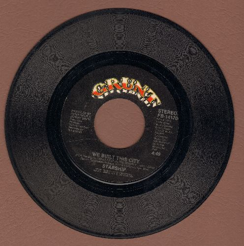 Starship - We Built This City (On Rock & Roll)/Private Room (Instrumental)  - VG7/ - 45 rpm Records