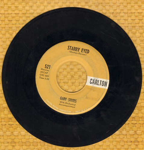 Stites, Gary - Starry Eyed/Without Your Love (minor label blemish) - EX8/ - 45 rpm Records