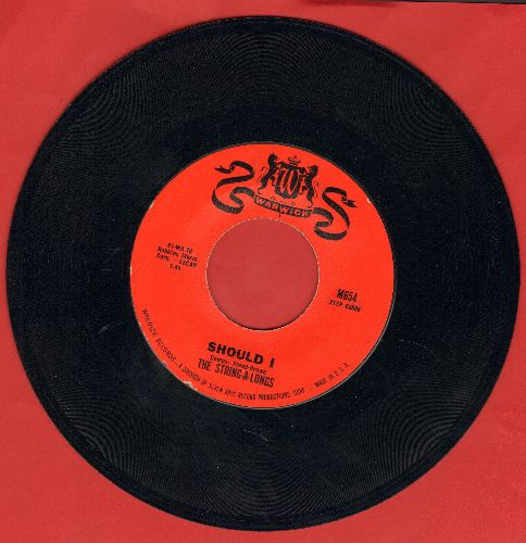 String-A-Longs - Should I/Take A Minute - EX8/ - 45 rpm Records