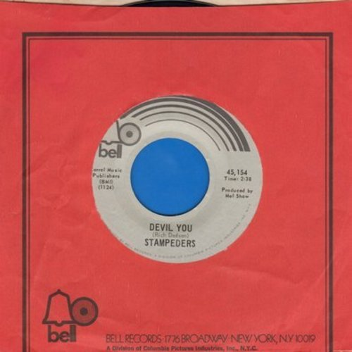 Stampeders - Devil You/Giant In The Streets (with Bell company sleeve) - NM9/ - 45 rpm Records