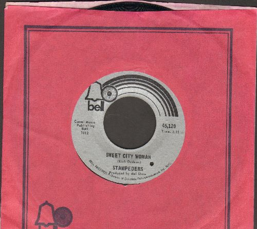 Stampeders - Sweet City Woman/Gator Road  (with Bell company sleeve) (bb) - EX8/ - 45 rpm Records
