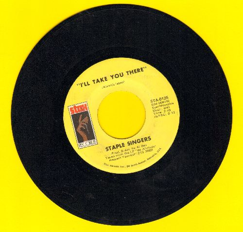 Staple Singers - I'll Take You There/I'm Just Another Soldier - EX8/ - 45 rpm Records