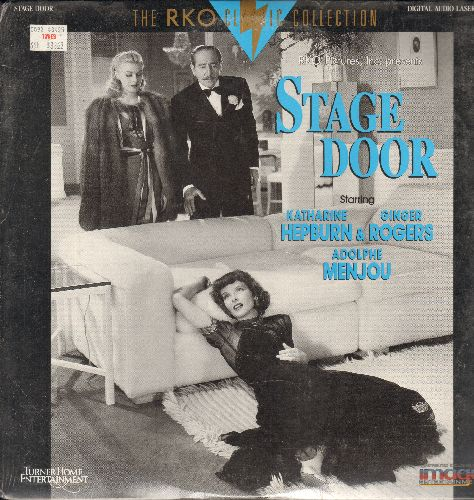 Stage Door - Stage Door LASERDISC VERSION Starring Katharine Hepburn, Ginger Rogers and Adolphie Menjou (SEALED, never opened!) - SEALED/SEALED - LaserDiscs