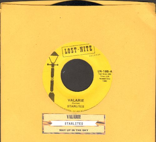 Starlites - Valerie/Way Up In The Sky (double-hit re-issue with juke box label) - NM9/ - 45 rpm Records