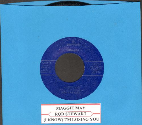 Stewart, Rod - Maggie May/(I Know) I'm Losing You (re-issue with juke box label) - M10/ - 45 rpm Records