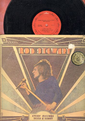 Stewart, Rod - Every Picture Tells A Story: Maggie May, Reason To Believe, Mandolin Wind, Seems Like A Long Time (Vinyl STEREO LP record) - NM9/EX8 - LP Records