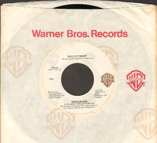 Stewart, Rod - Infatuation/She Won't Dance With Me (with Warner Brothers company sleeve) - NM9/ - 45 rpm Records
