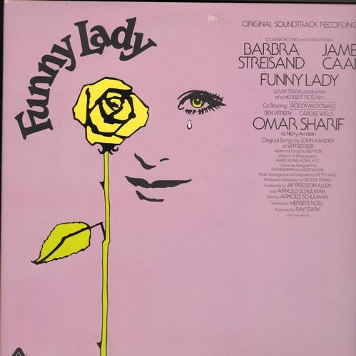 Streisand, Barbra - Funny Lady - Original Morion Picture Sound Track (Vinyl STEREO LP record, gate-fold cover first pressing) - NM9/EX8 - LP Records