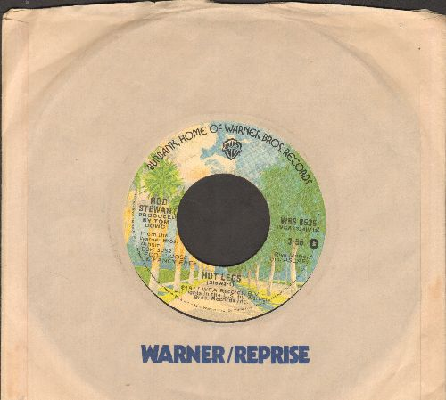 Stewart, Rod - Hot Legs/You're Insane (with Warner Brothers company sleeve) - VG7/ - 45 rpm Records