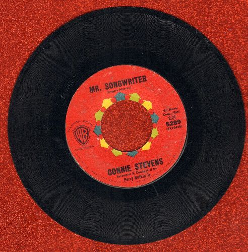 Stevens, Connie - Mr. Songwriter (Write Me A Song)/I Couldn't Say No  - EX8/ - 45 rpm Records