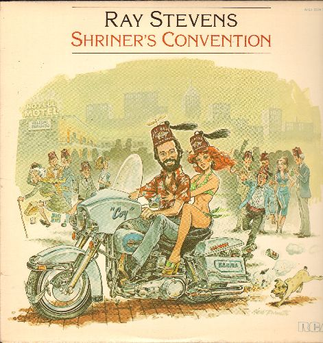 Stevens, Ray - Shriner's Convention: The Last Laugh, Put It In Your Ear, Coin Machine, Rita's Letter (vinyl STEREO LP record) - NM9/NM9 - LP Records