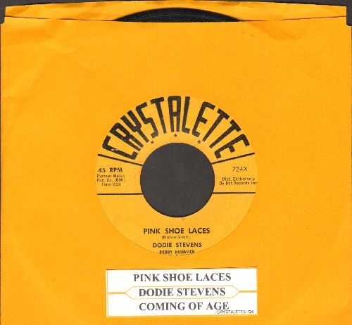 Stevens, Dodie - Pink Shoe Laces/Coming Of Age (The ULTIMATE 50s Girl-Sound, first issue) (wol) - VG7/ - 45 rpm Records