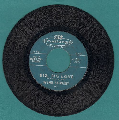 Stewart, Wynn - Big, Big Love/One More Memory - VG7/ - 45 rpm Records
