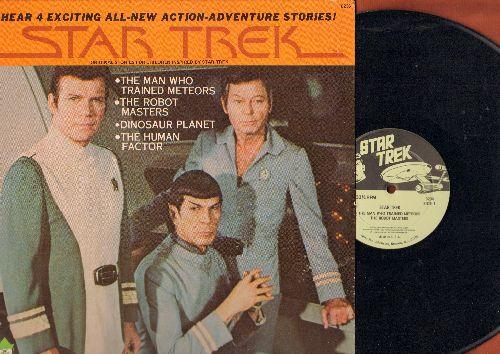 Star Trek - Star Trek - 4 Exciting All-New Action-Adventure Stories! (Vinyl LP record, cover has lower right corner cut, still in shrink wrap!) - NM9/EX8 - LP Records