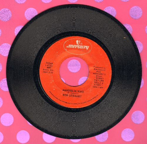 Stewart, Rod - Mandolin Wind/(I Know) I'm Losing You - EX8/ - 45 rpm Records