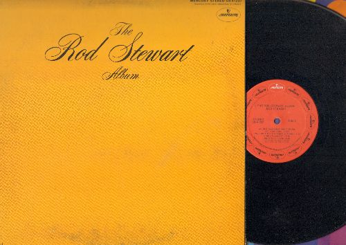 Stewart, Rod - The Rod Stewart Album: Handbags & Gladrags, Street Fighting Man, I Wouldn't Ever Change A Thing (Vinyl STEREO LP record, gate-fold cover) - VG7/VG7 - LP Records