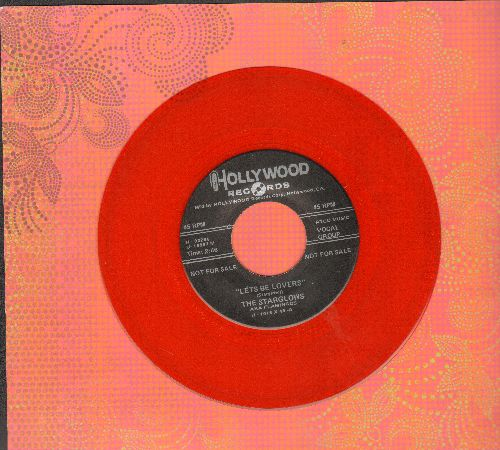 Starglows - Let's Be Lovers/Thunderbird (by Big Walter on flip-side) (Red Vinyl re-issue) - NM9/ - 45 rpm Records