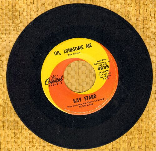 Starr, Kay - Oh, Lonesome Me/Four Walls - EX8/ - 45 rpm Records