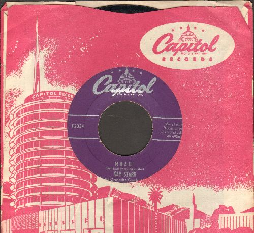 Starr, Kay - Noah!/Side By Side (with vintage Capitol company sleeve) - VG7/ - 45 rpm Records