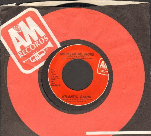Altlantic Starr - More, More, More/Love Me Down (with A&M company sleeve) - EX8/ - 45 rpm Records