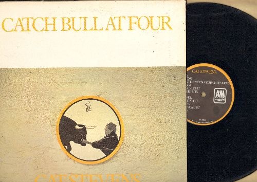 Stevens, Cat - Catch Bull At Four: Sweet Scarlet, Ruins, Silent Sunlight, Can't Keep It In (vinyl STEREO LP record, gate-fold cover) - EX8/EX8 - LP Records
