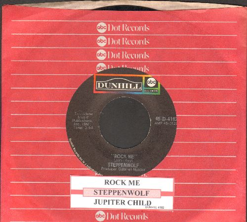 Steppenwolf - Rock Me/Jupiter Child (with ABC company sleeve and juke box label) - NM9/ - 45 rpm Records
