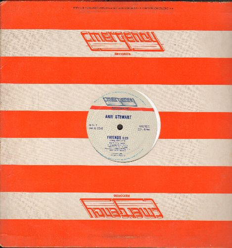 Stewart, Amii - Friends (6:29 minutes)/Friends (4:25 Instrumental)/Pictures (3:42) (12 inch vinyl Maxi Single with Emergency company cover) - NM9/ - Maxi Singles