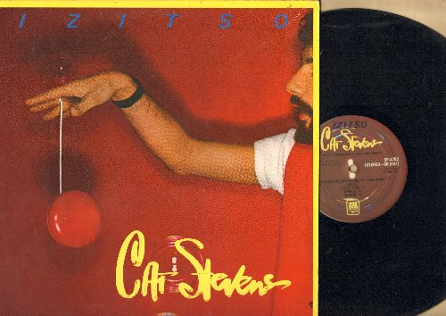 Stevens, Cat - Izitso: Bonfire, (Remember The Days Of The) Old Schoolyard, Sweet Jamaica, To Be A Star (vinyl STEREO LP record, gate-fold cover) - NM9/EX8 - LP Records