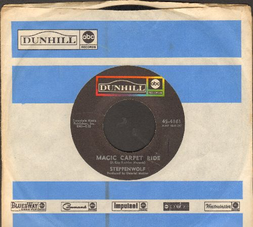 Steppenwolf - Magic Carpet Ride/Sookie Sookie (with Dunhill company sleeve) - EX8/ - 45 rpm Records