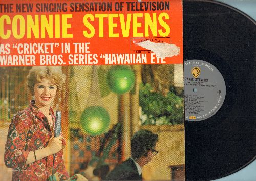 Stevens, Connie - Connie Stevens As Cricket from -Hawaiian Eye-: Apollo, Lulu's Back In Town, Let's Do It, The Trolley Song, Sixteen Reasons, A Little Kiss Is A Kiss Is A Kiss (Vinyl MONO LP record) - VG7/VG7 - LP Records