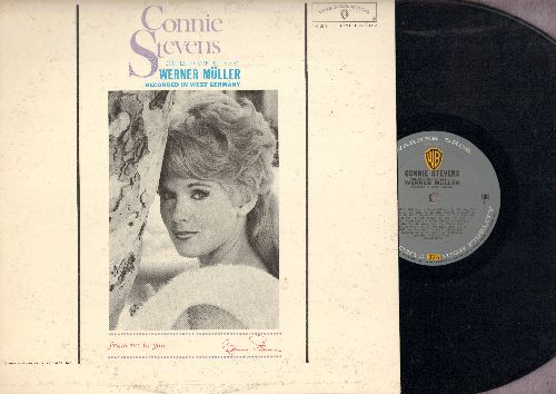 Stevens, Connie - Connie Stevens: Wild Is The Wind, The Long Hot Summer, My Own True Love, I've Got My Love To Keep Me Warm (Vinyl MONO LP record) - NM9/VG7 - LP Records