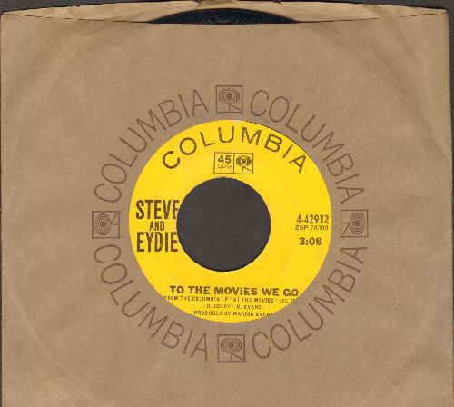 Steve (Lawrence) & Eydie (Gorme) - To The Movies We Go/I Can't Stop Talking About You (with Columbia company sleeve) - NM9/ - 45 rpm Records