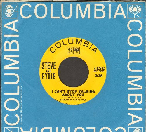 Lawrence, Steve & Eydie Gorme - I Can't Stop Talking About You/To The Movies We Go (with vintage Columbia company sleeve) - EX8/ - 45 rpm Records