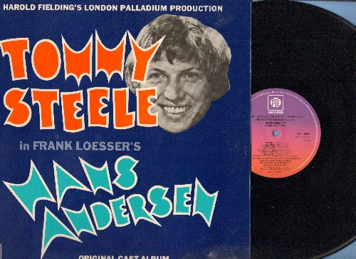 Steele, Tommy - Hans Andersen - London Palladium Production, Original Cast Album starring Tommy Steele (Vinyl STEREO LP record, British Pressing) - NM9/NM9 - LP Records