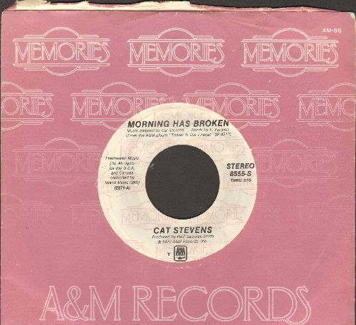 Stevens, Cat - Morning Has Broken/Where Do The Children Play (double-hit re-issue with company sleeve) - NM9/ - 45 rpm Records