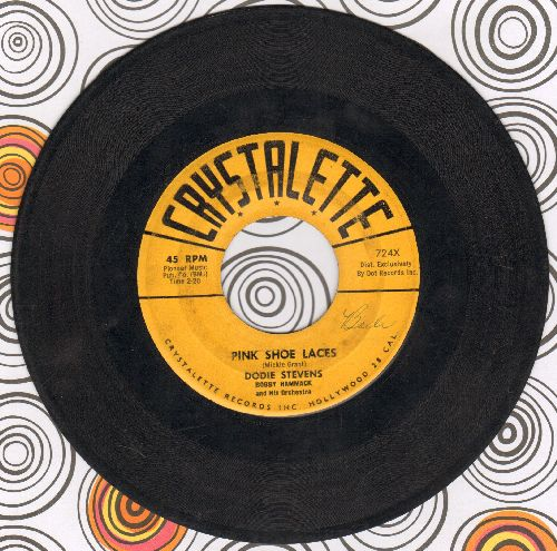 Stevens, Dodie - Pink Shoe Laces/Coming Of Age (The ULTIMATE 50s Girl-Sound, first issue!) - G5/ - 45 rpm Records