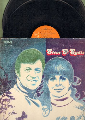 Lawrence, Steve & Eydie Gorme - This Is Steve & Eydie Vol.2: I've Gotta Be Me, A Time For Us, It Had To Be You, Dream, What The World Needs Now (2 vinyl STEREO LP records, gate-fold cover) - NM9/VG7 - LP Records
