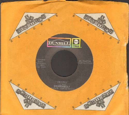 Steppenwolf - Twisted/Hey Lawdy Mama (with Dunhill company sleeve) - NM9/ - 45 rpm Records