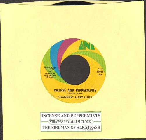 Strawberry Alarm Clock - Incense And Peppermints/The Birdman Of Alkatrash (with juke box label) - VG7/ - 45 rpm Records