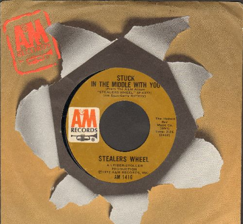 Herman's Hermits - Moonshine Man/Don't Go Out Into The Rain (You're Going To Melt) (with MGM company sleeve and juke box label) (bb) - EX8/ - 45 rpm Records
