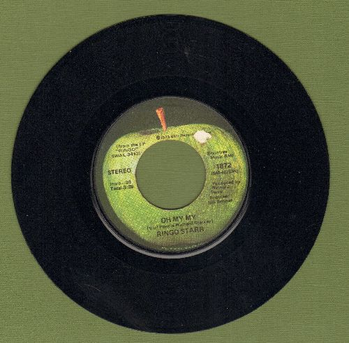Starr, Ringo - Oh My My/Step Lightly - EX8/ - 45 rpm Records