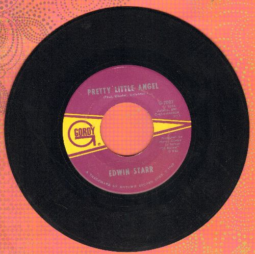Starr, Edwin - Pretty Little Angel/I'm Still A Struggling Man  - EX8/ - 45 rpm Records