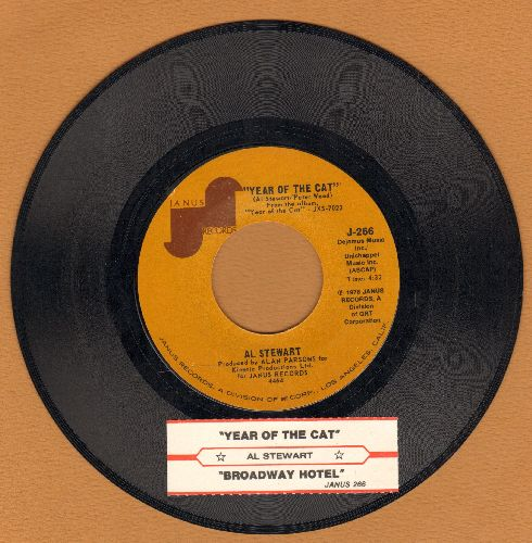 Stewart, Al - Year Of The Cat/Broadway Hotel (with juke box label) - EX8/ - 45 rpm Records