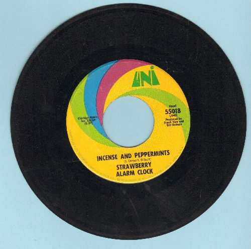 Strawberry Alarm Clock - Incense And Peppermints/The Birdman Of Alkatrash (bb, wol) - EX8/ - 45 rpm Records