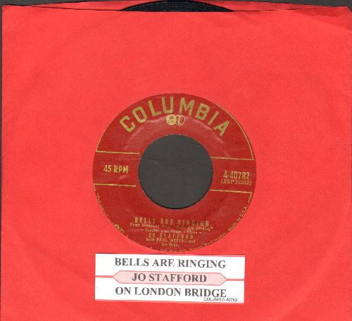 Stafford, Jo - Bells Are Ringing/On London Bridge (with juke box label) - EX8/ - 45 rpm Records