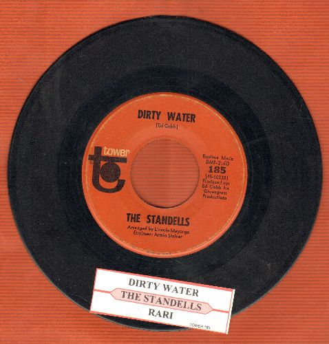 Standells - Dirty Water/Rari (with juke box label) - VG7/ - 45 rpm Records