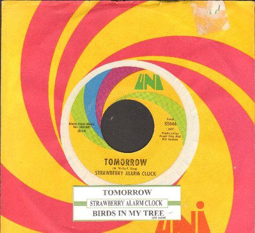 Strawberry Alarm Clock - Tomorrow/Birds In My Tree (with juke box label and Uni company sleeve)  - NM9/ - 45 rpm Records