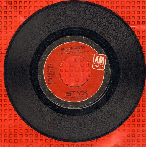 Styx - Mr. Roboto/Snowblind - EX8/ - 45 rpm Records