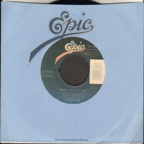 Stone, Doug - Made For Lovin' You/She's Got A Future In The Movies - NM9/ - 45 rpm Records